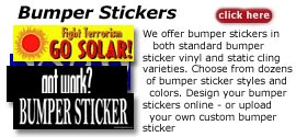 Bumper stickers online: make your own custom bumper stickers online using our bumber sticker templates